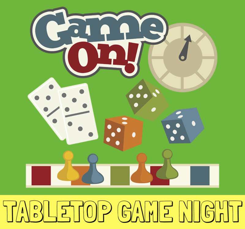 TABLETOP GAME NIGHT poster crop