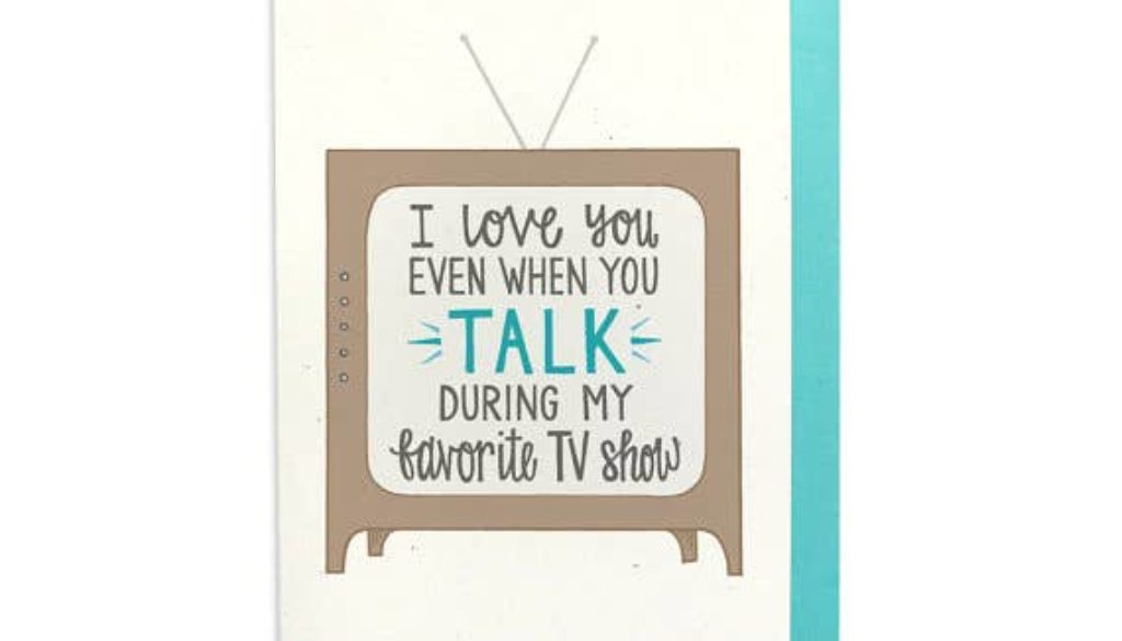 TV Funny Card